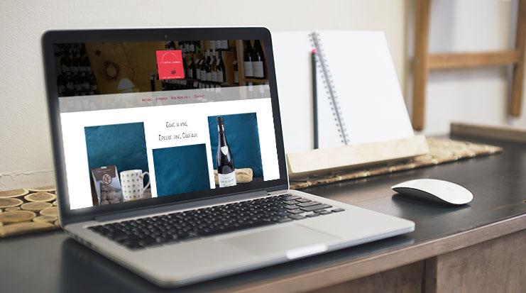 Site Internet Le Comptoir Gourmand